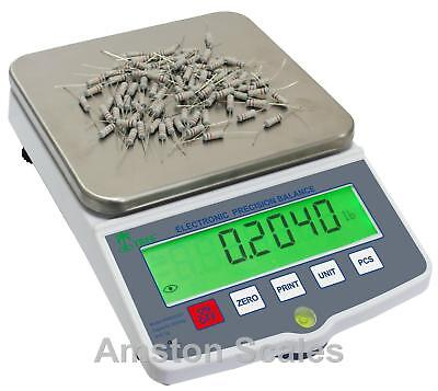 Digital Scale Gold Silver Jewelry 10,000 X 0.1 Grams 100,000 X 0.5 Carats -