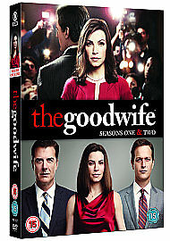 THE GOOD WIFE Series 12 Season DVD - Liverpool, United Kingdom - THE GOOD WIFE Series 12 Season DVD - Liverpool, United Kingdom