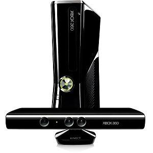 NEW-Microsoft-Xbox-360-Slim-Latest-Model-with-Kinect-4-GB-Black-Console