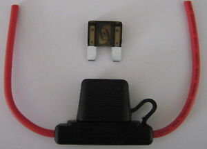 MAXI  FUSE HOLDER WITH COVER   FHMAX  (B/NEW) Incl. 1 x FUSE 60 Amp