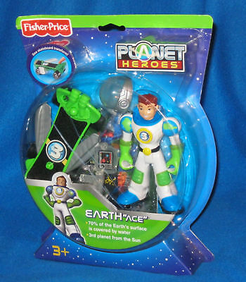 FISHER PRICE PLANET HEROES EARTH ACE NEW L1991