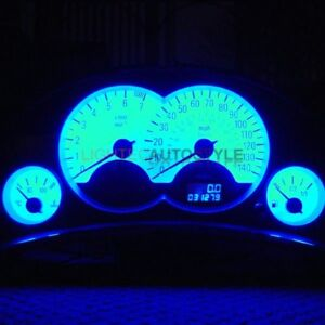 VAUXHALL CORSA C TIGRA B COMBO BLUE FULL LED DASH KIT