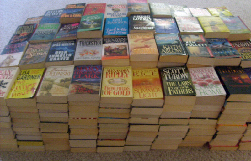 Fiction Paperbacks/Softcovers 5 lbs FREE SHIPPING Popular Authors