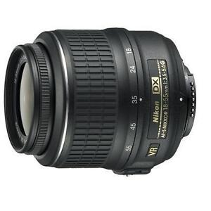 NEW Nikon AF-S DX NIKKOR 18-55mm f/3.5-5.6G VR Lens