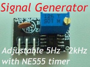Signal-Generator-Adjustable-5Hz-2kHz-with-NE555-timer-Oscillator-I-P-DC4-6V