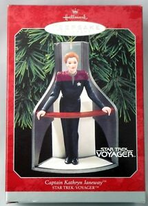 HALLMARK-STAR-TREK-ORNAMENT-CAPTAIN-KATHRYN-JANEWAY-NIB