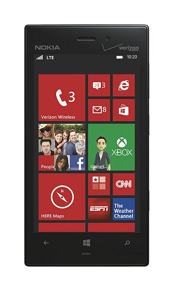 Nokia Lumia 928 - 32GB - Black (Verizon) Smartphone