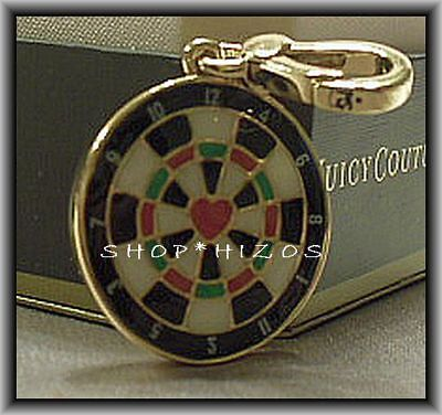Authentic Juicy Couture 2011 Dartboard Charm