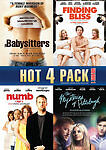 Hot-4-Pack-Vol-1-BABYSITTERS-FINDING-BLISS-NUMB-MYSTERIE-DVD-2012-Canadian