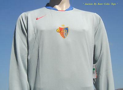 BNWT FC Basel Player Issue Goalkeeper Shirt Size XL
