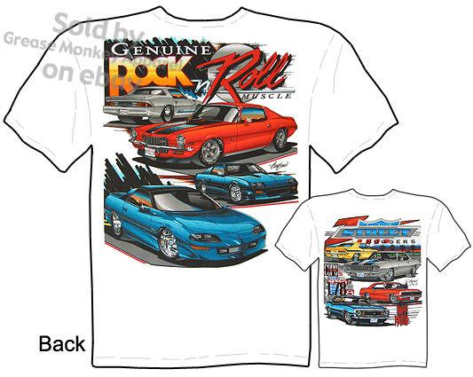 Chevy Camaro T Shirts, Muscle Car Tshirts 67 68 69 Chevy Tee, Sz M L Xl 2xl 3xl