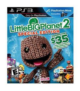 LittleBigPlanet 2 -- Special Edition (Sony PlayStation 3, 2011)