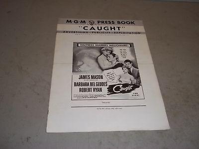 1949 CAUGHT MOVIE PRESS BOOK STARRING JAMES MASON & BARBARA BEL GEDDES - P 108