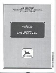 Deere-Thatcherator-Lawn-Roller-Plug-Aerator-Spreader-Operators-Manual