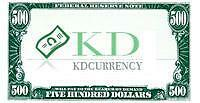 KD Currency 500s and 1000s