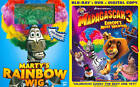 Madagascar 3: Europe's Most Wanted (Blu-ray/DVD, 2012, 2-Disc Set)