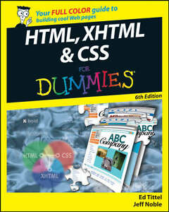 HTML, XHTML & CSS For Dummies (For Dummies (Computer/Tech))-ExLibrary