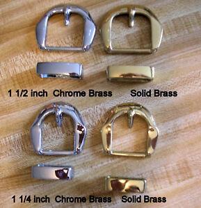 Brass-Belt-Buckle-Sets-Solid-Chrome-1-1-2-1-1-4