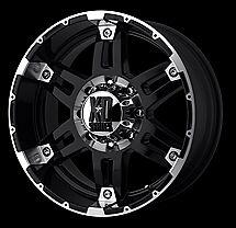 4 17 Inch Chevy Silverado 2500 Hd Truck Xd797 17x8 Black Rims Wheels 8 Lug