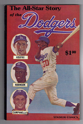ALL-STAR STORY OF THE DODGERS #1 - MINT - 1979