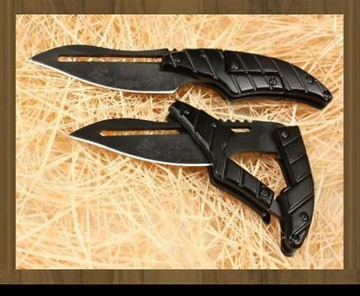 ALIEN TRANSFORMERS Folding Pocket Knife Blade Outdoor Hunting Camping Tool on Rummage