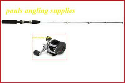 Fishing Rod Kayak Canoe 82 Cm & Black Reel
