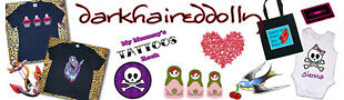 darkhaireddolly designs