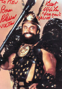 BRIAN BLESSED signed 7x5  STAR WARS & FLASH GORDON   COA