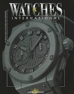Watches International: v. 10 by Tourbillon International (Paperback, 2009)