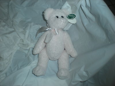 Bearington Collection Pink Bear Plush Lovey Baby