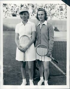 1939-Tennis-Champs-Alice-Marble-V-Wolfenden-Press-Photo