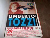 Umberto Tozzi-manifesto Tour,equivocando, 70 X 110 -  - ebay.it