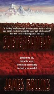 Subterranean, Rollins, James, Very Good Book