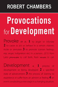 Provocations for Development by Robert Chambers (Paperback, 2012)