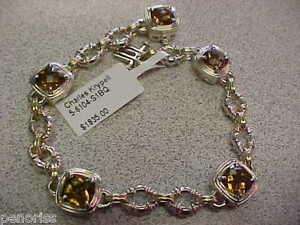 Charles-Krypell-Designer-Citrine-Bracelet-7-1-4-inch