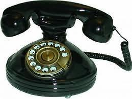 OLD-FASHIONED-ROTARY-DIAL-PHONE-1930s-Retro-Telephone