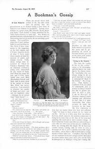 1905-PRINT-ARTICLE-BOOKS-MRS-HAROLD-GORST-QUILL-PENS