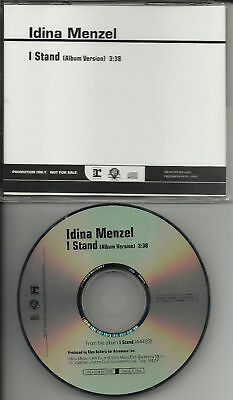 Rent   Wicked Singer Idina Menzel I Stand Promo Dj Cd