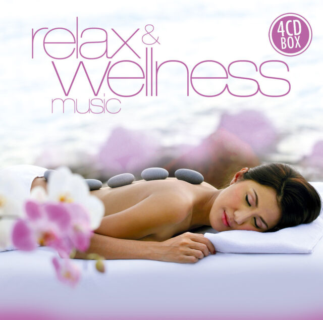 CD Relax And Wellness Music von Wellness Dreams Orchestra   4CD Box Set