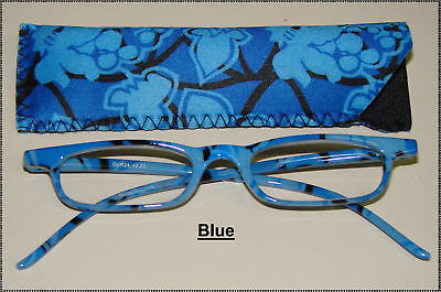 Reading Glasses W/matching Pouch