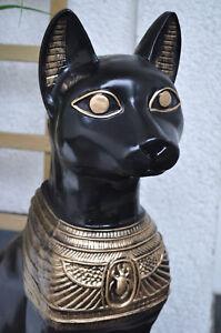 Ägyptische Katze BASTET XXL 75 cm groß, Dekofigur, Hausdeko !