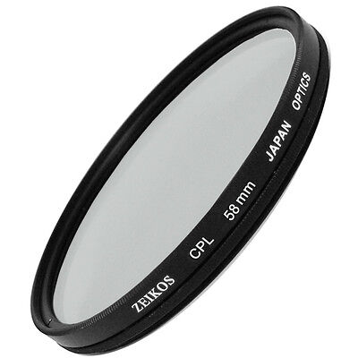 Cpl Polarizer Circular Filter For Canon Eos Rebel T3 T3i