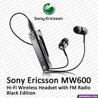 Sony Ericsson MW600 Bluetooth Headset FM Radio Call ID