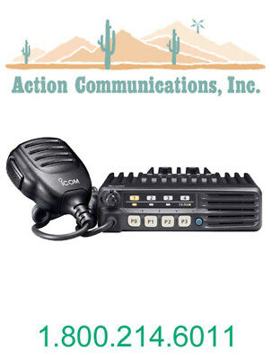 New Icom Ic-f5011-51 Vhf 136-174 Mhz 50 Watt 8 Channel Two Way Radio