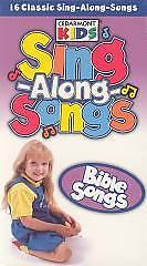 cedarmont kids sing along bible songs vhs 764315004930 ebay. Black Bedroom Furniture Sets. Home Design Ideas