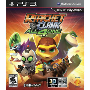 RATCHET-AND-CLANK-ALL-4-ONE-Sony-Playstation-3-2011-BRAND-NEW-SEALED