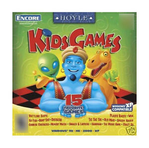 Hoyle Kids Games (PC, 2000)