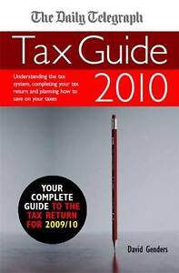 David-Genders-The-Daily-Telegraph-Tax-Guide-2010-2009-2010-Book