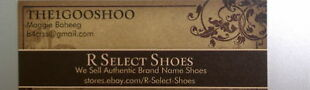 R Select Shoes