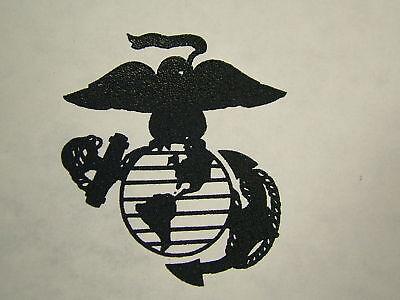 USMC MARINE CORPS EGA TRANSFER EMBLEM CAMO BDU POCKET IRON ON DECAL GLOBE ANCHOR